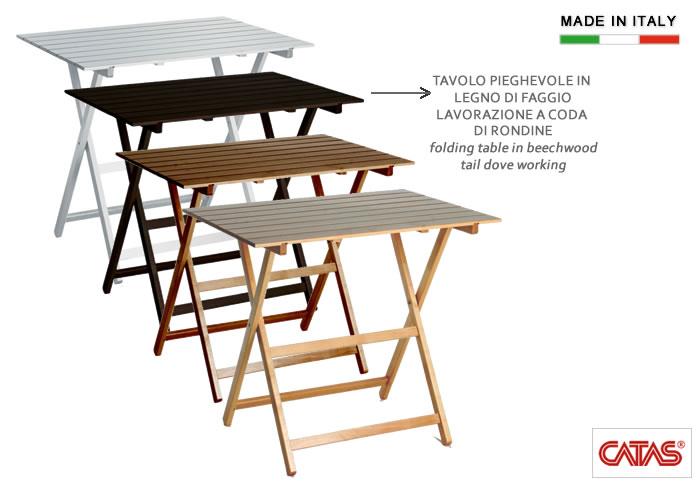 Cerchi tavolo pieghevole in legno h8220 ampia scelta su for Tavolo in legno pieghevole