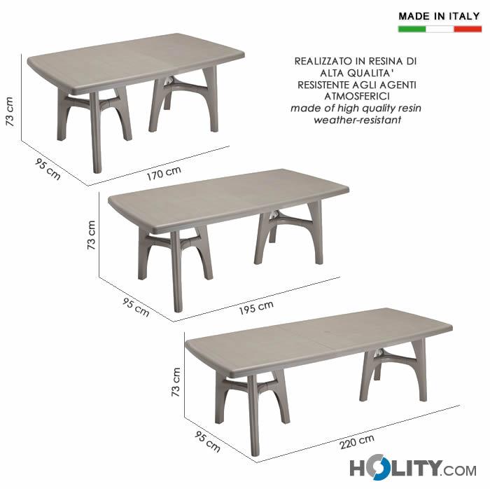 Cerchi tavolo in resina estendibile h7475 ampia scelta su - Fermatovaglia per tavoli di plastica ...