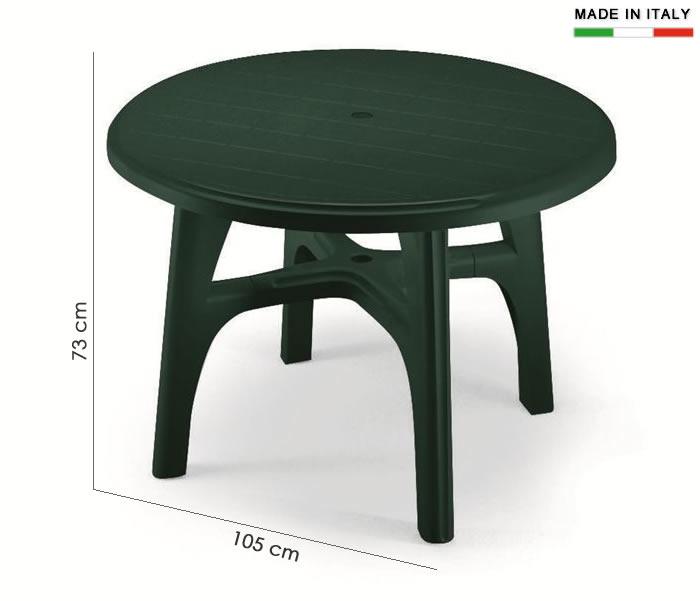 Cerchi Tavolino In Resina Rotondo H7481 Ampia Scelta Su