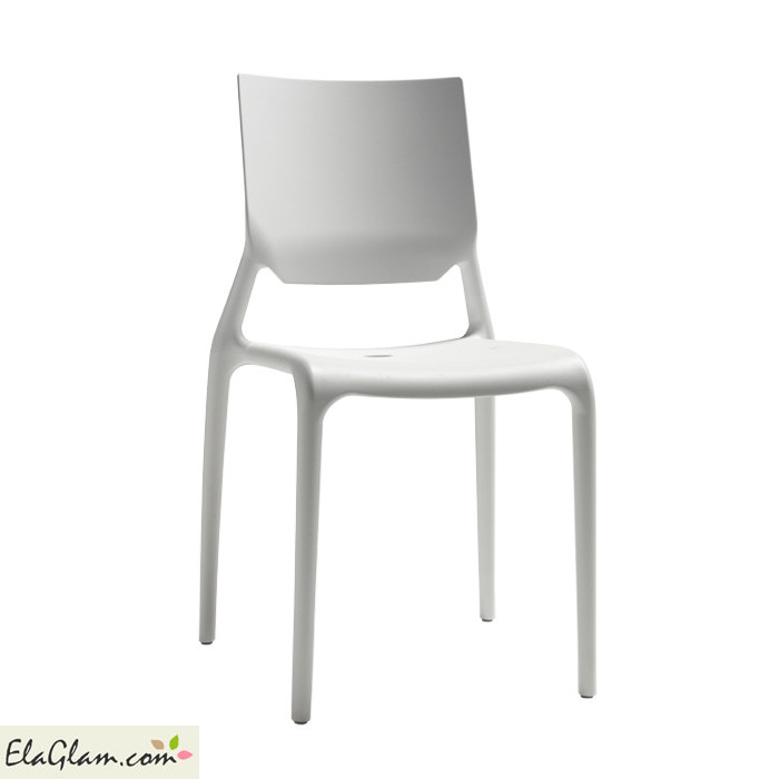 Sedia Sirio Scab Design in plastica h74120