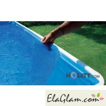 Copertura galleggiante isotermica per piscine tonde diametro 6,00mt h17428
