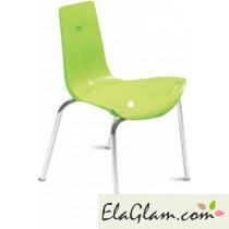 Sedia impilabile per esterno giardino e bar h15113