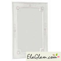 Specchiera con cornice in mdf verniciato h13703