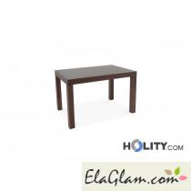Tavolo rettangolare allungabile in legno h13009