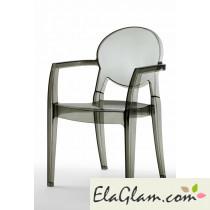 sedia-in-policarbonato-h7406-trasparente-fumè