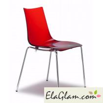 sedia-in-policabonato-h7413-trasparente-arancio