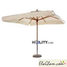 Ombrellone in legno h1405