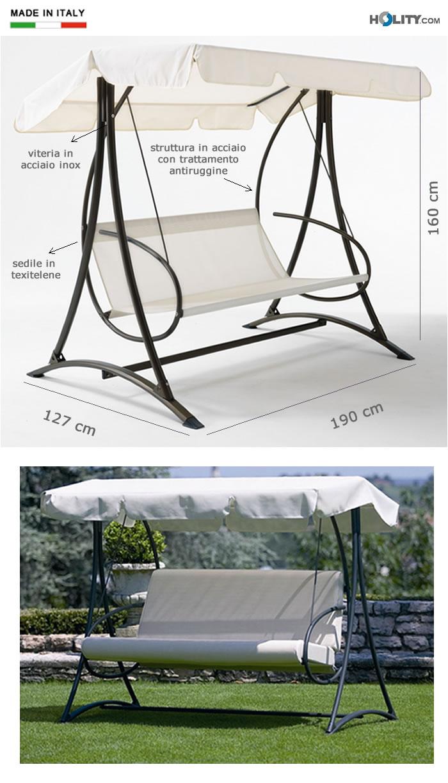 dondolo-giardino-3-posti-in-acciaio-con-cuscino-opzionale